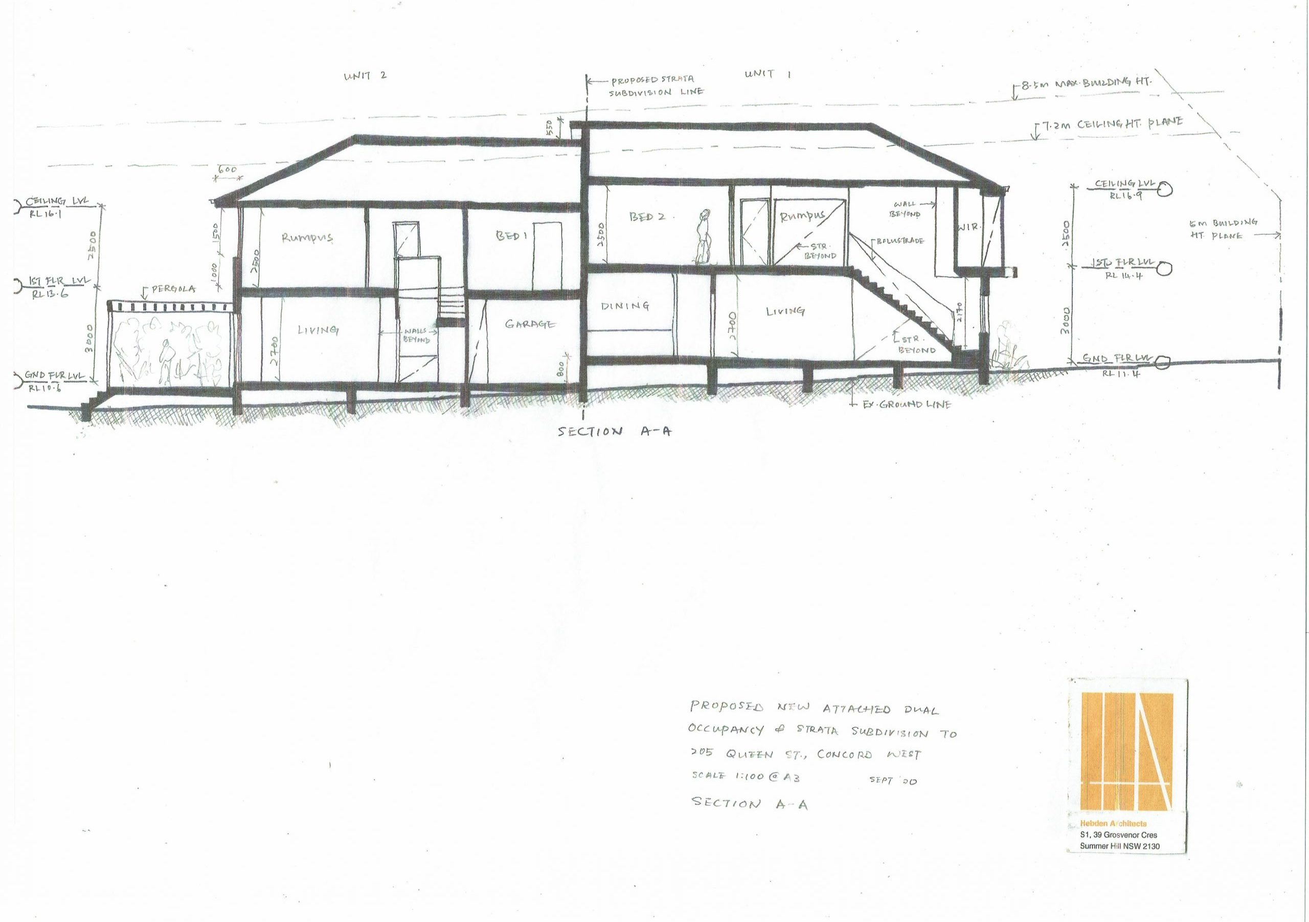 Duplex Concord West Sketch Drawings 16 09 2020 Page 5